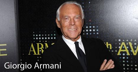 Giorgio Armani inaugurou loja na 5th Avenue, em Nova Iorque