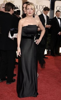 Kate Winslet foi a grande vencedora dos Globos de Ouro