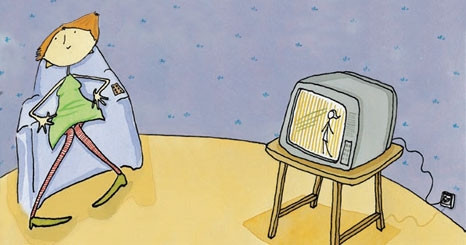 Mais tv, menos sono