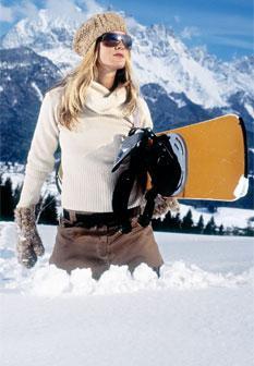 Como proteger a pele do rosto da neve