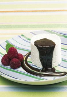 Taças de doce gelado