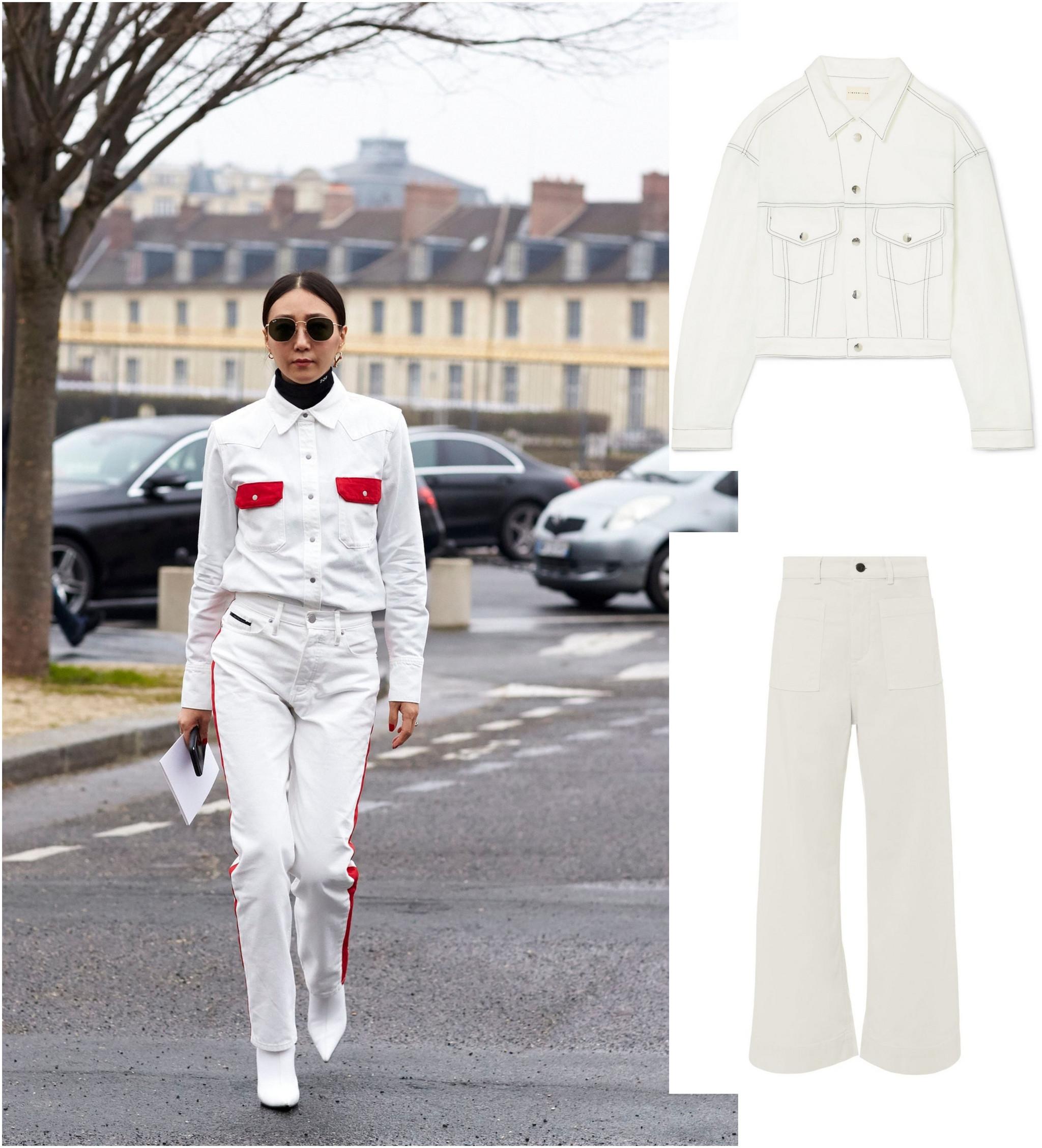 Combinação t shirt com calça skinny e casaco: aposte sem medo
