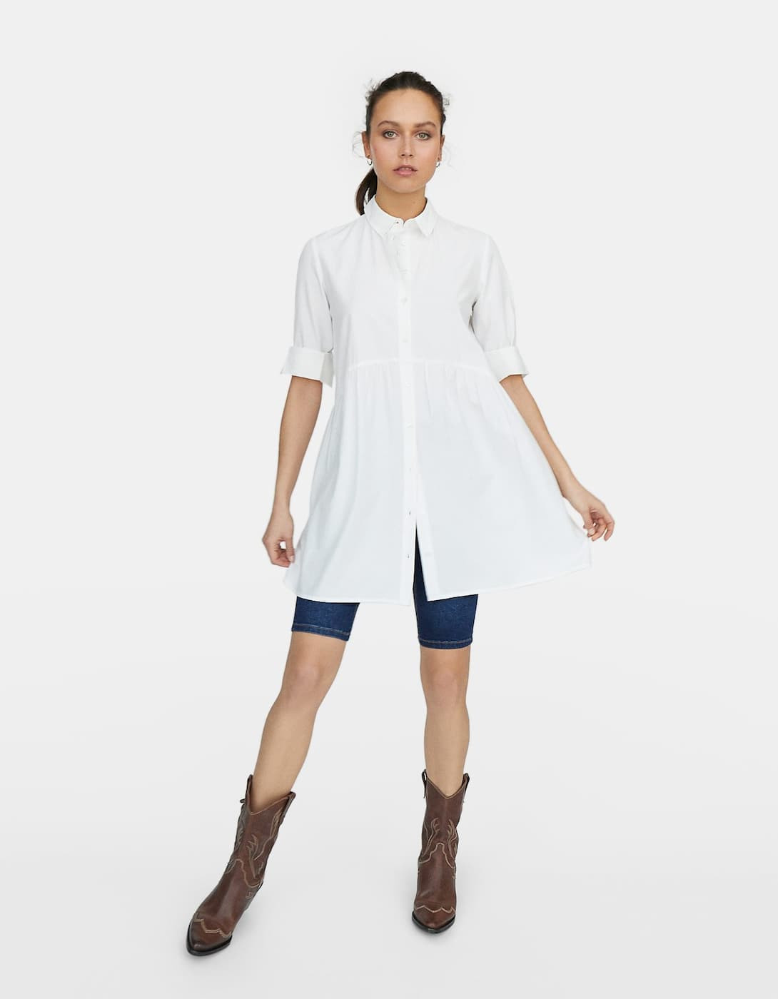 Camisa vestido de popelina 12,99 euros (19,99 euros).jpg