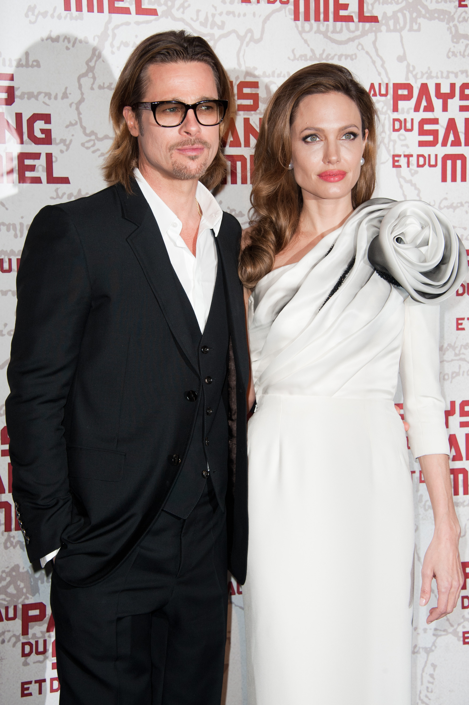 Angelina JolieeBrad Pitt