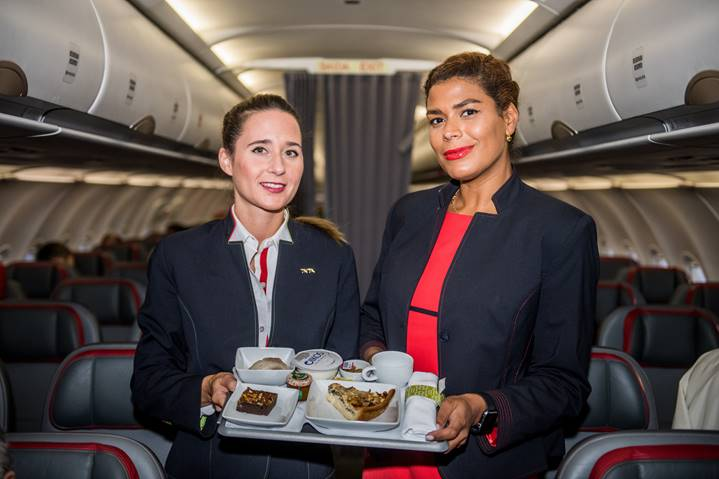 Tripulantes de cabine da TAP criam novas refeições