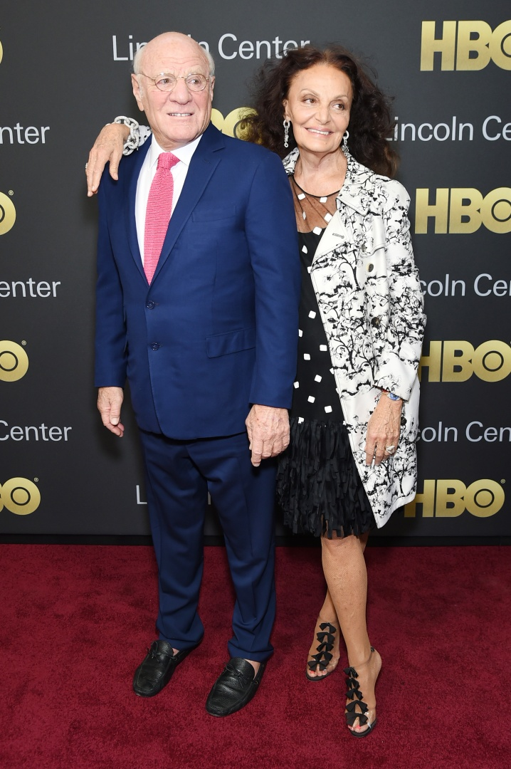 NEW YORK, NY - MAY 29:  Gala Co-chairs Barry Diller (L) and designer Diane von Furstenberg attend Lincoln Center's American Songbook Gala at Alice Tully Hall on May 29, 2018 in New York City.  (Photo by Mike Coppola/Getty Images for Lincoln Center)