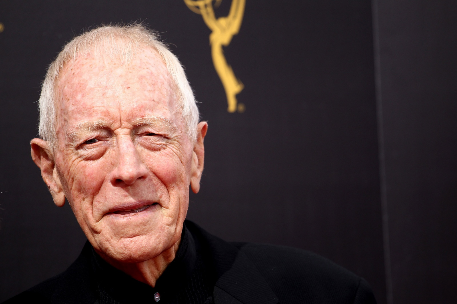 LOS ANGELES, CA - SEPTEMBER 10:  Max von Sydow attends the 2016 Creative Arts Emmy Awards held at Microsoft Theater on September 10, 2016 in Los Angeles, California.  (Photo by Tommaso Boddi/WireImage)
