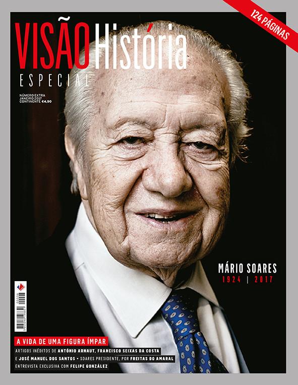 Edição especial da VISÃO História sobre Mário Soares