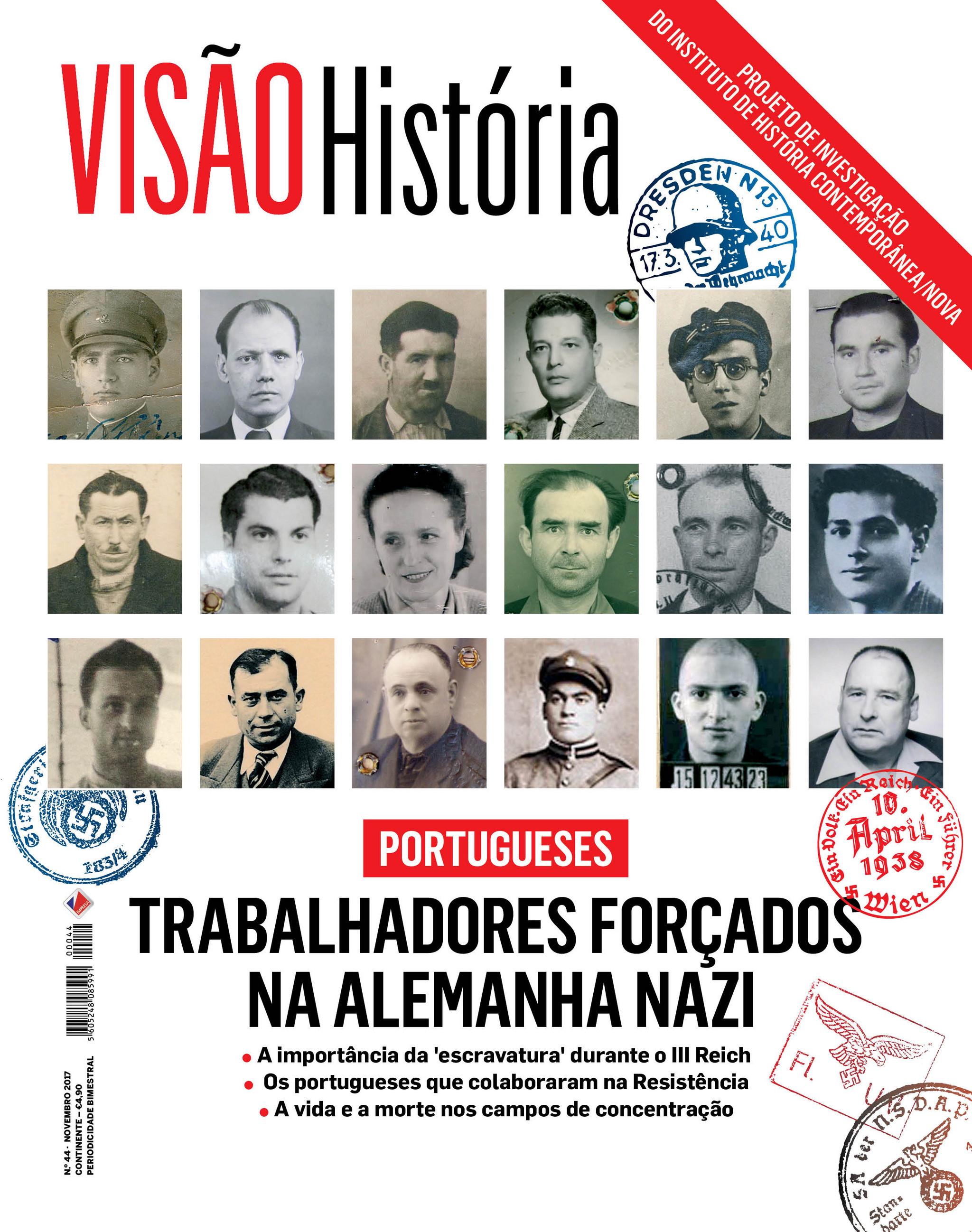 Portugueses trabalhadores forçados na Alemanha nazi