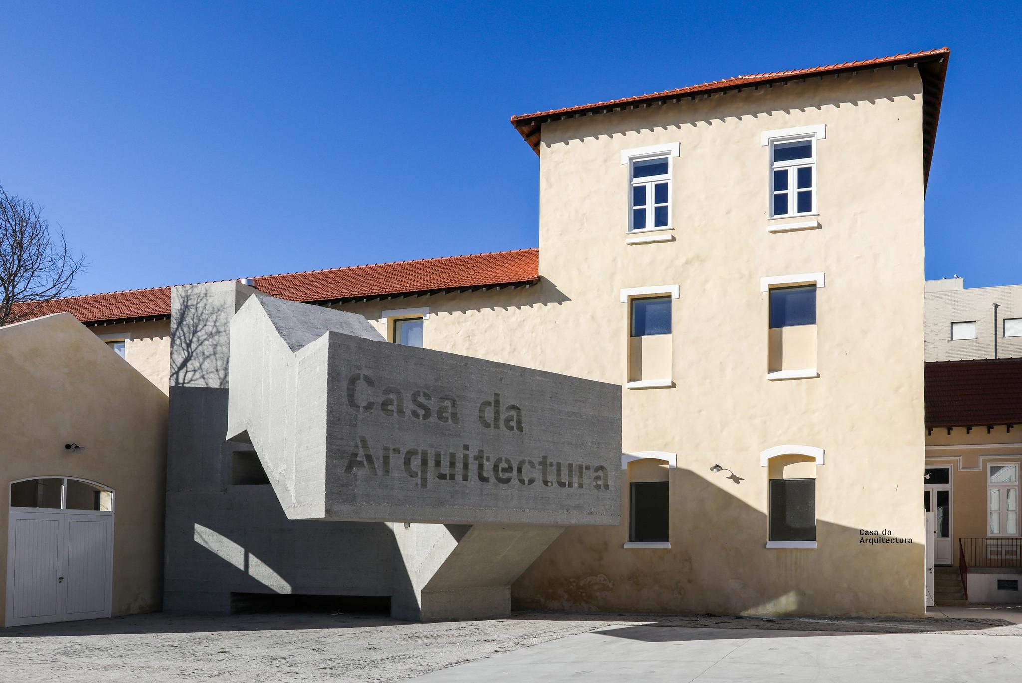 A arquitetura já tem casa em Matosinhos