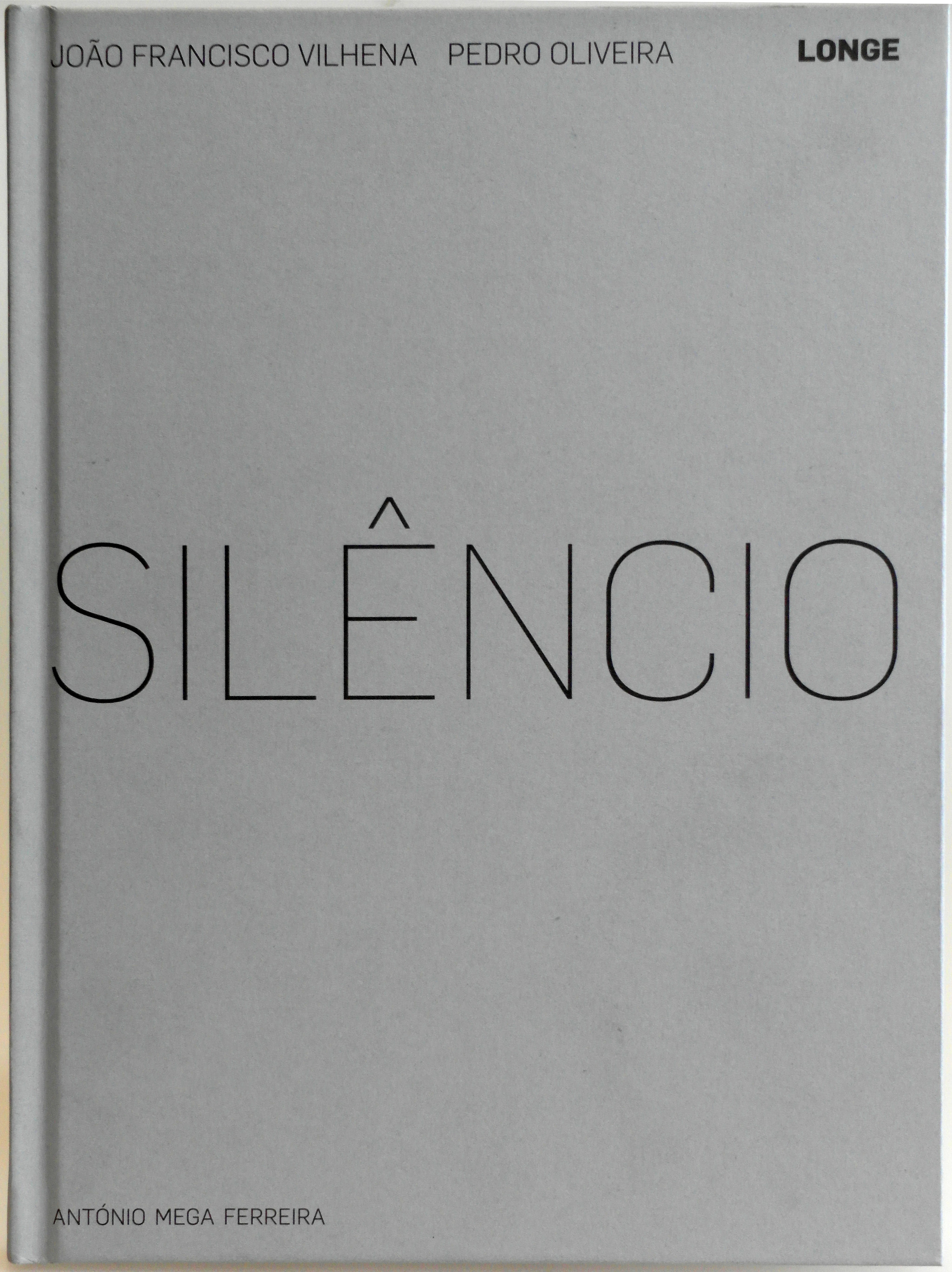 livro silencio de Joao Francisco Vilhena.JPG