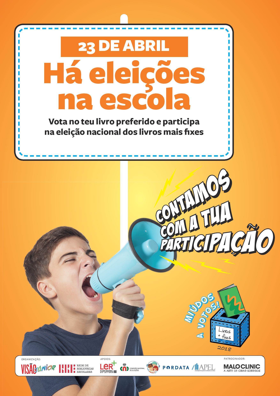 Cartazes para a campanha eleitoral de «Miúdos a Votos»