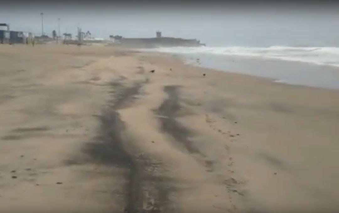 Carcavelos Praia suja