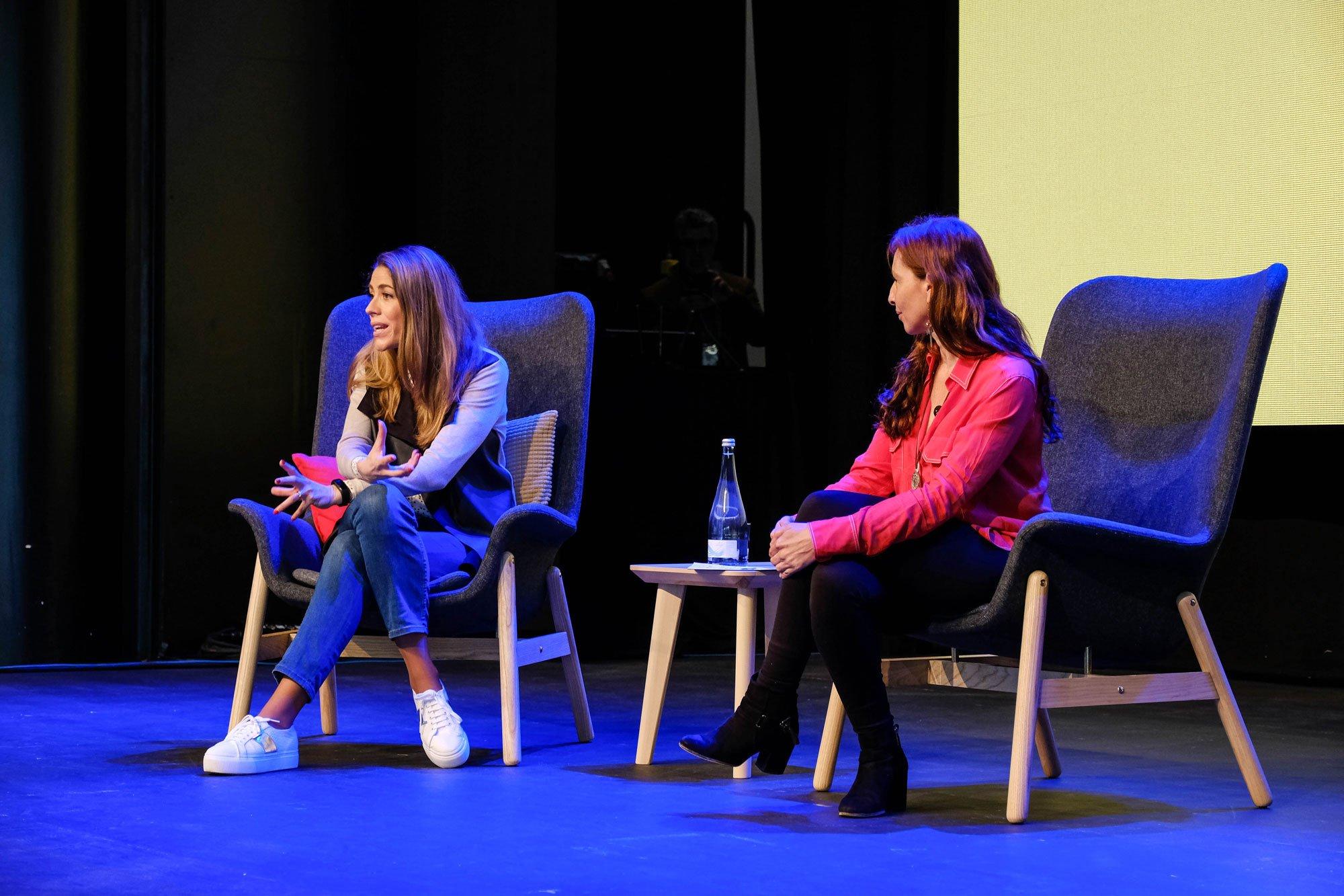 Iara Rodrigues e Ana Galvão