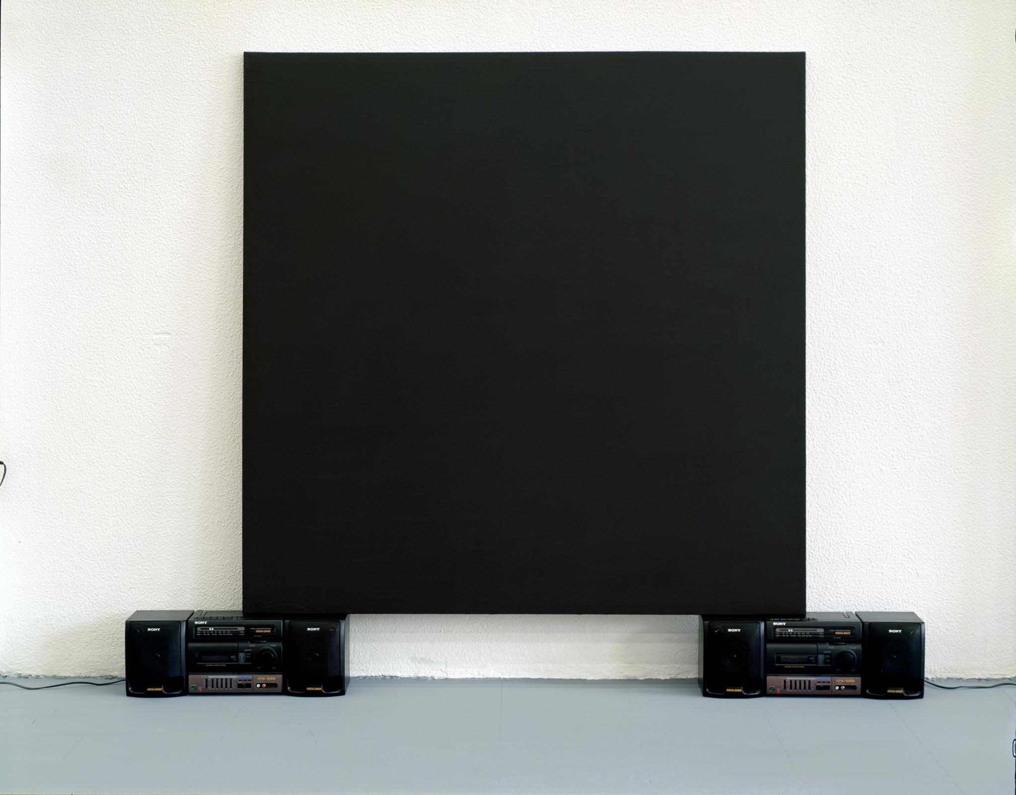 Germinal_Black Painting (Perfect Lovers).1997 de Rui Toscano Crédito DMF.TIF