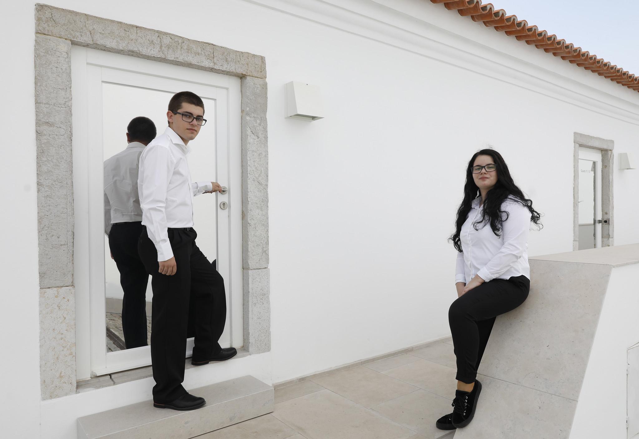André Vanessa Escola Hotelaria Setúbal