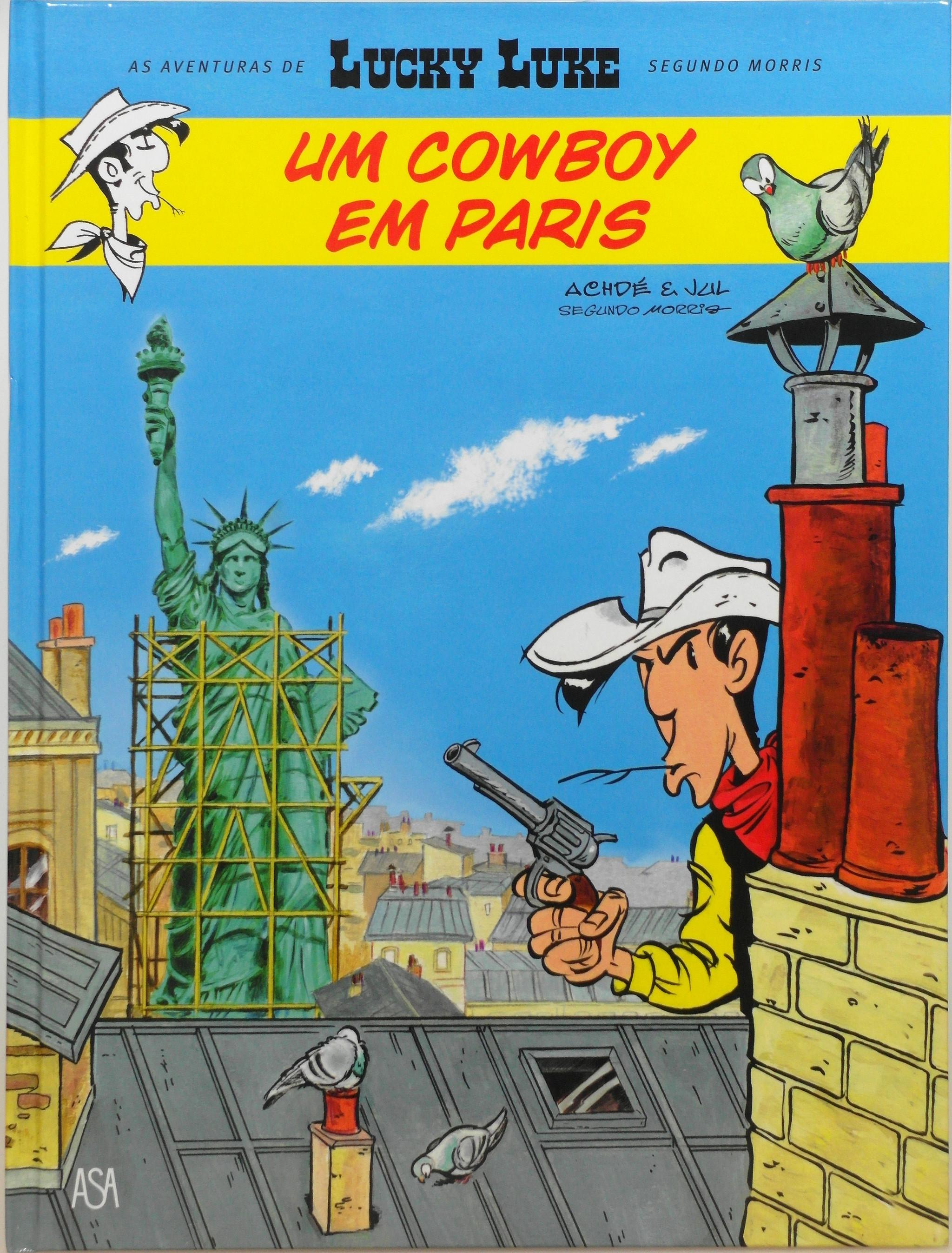 livro Um cowboy em Paris.JPG