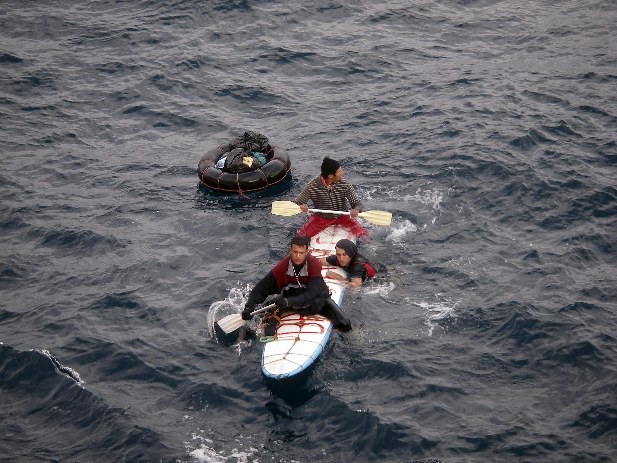 Mar Alborão Migrantes