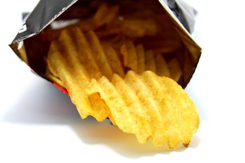 batatas fritas pacote