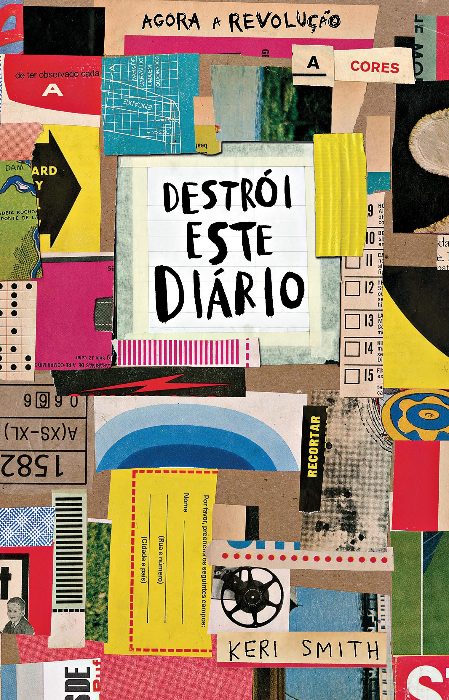 «Destrói este Diário», de Keri Smith
