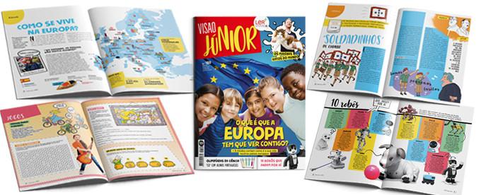 VISÃO JÚNIOR: O que é que a Europa tem que ver com os seus filhos?