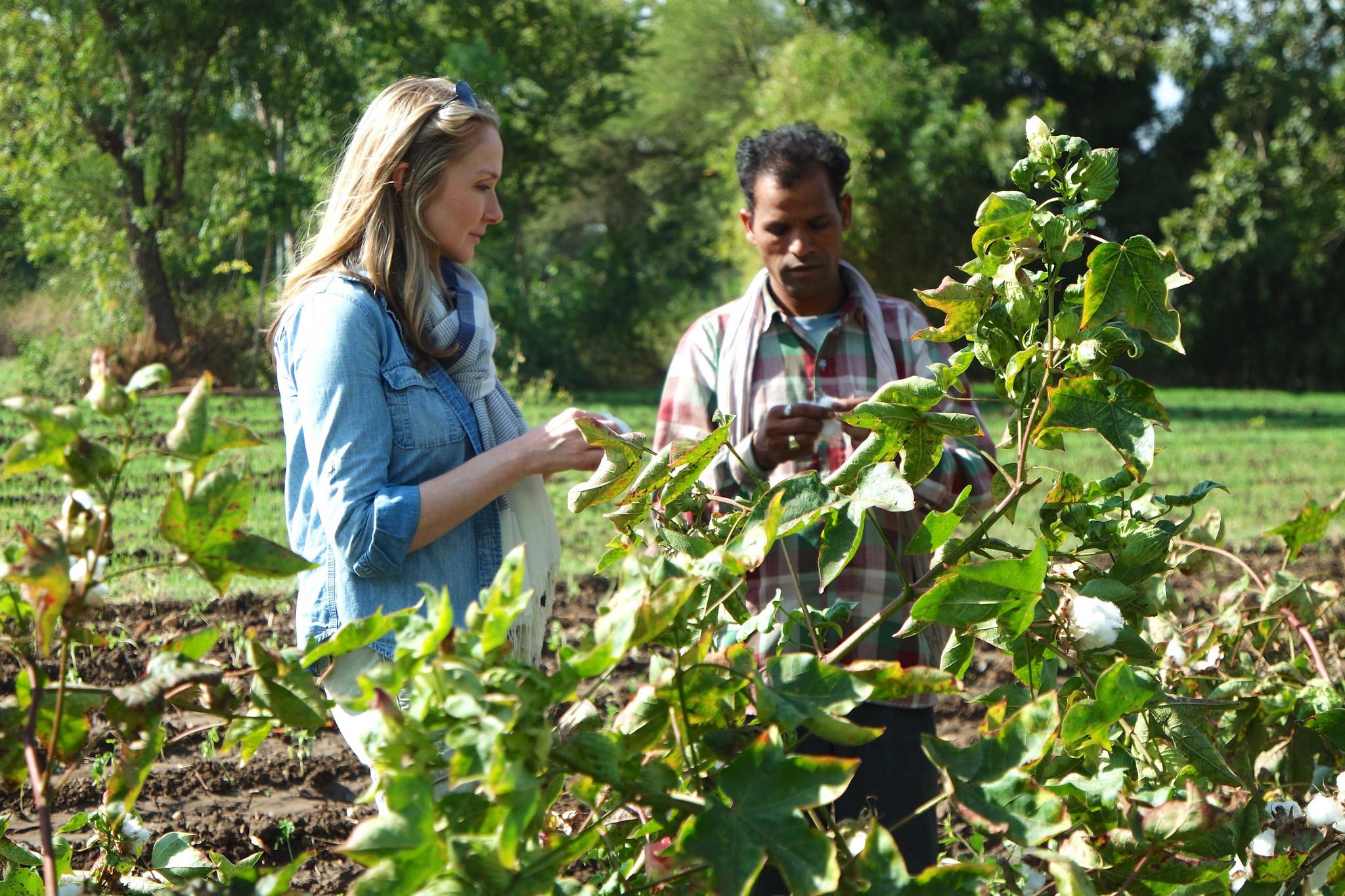 alexandra cousteau and organic cotton farmer ter singh - 2015 mirella pappalardo.jpg