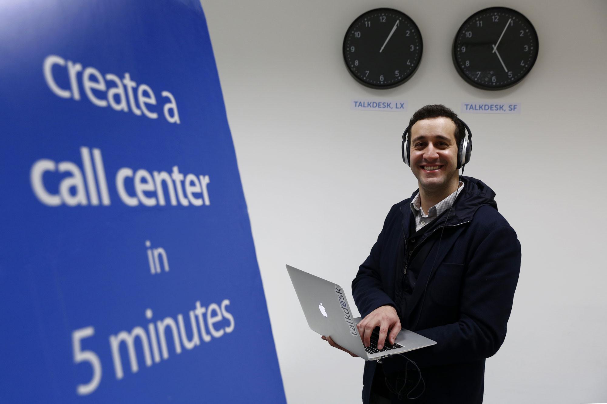 Talkdesk StartUp Tiago Paiva