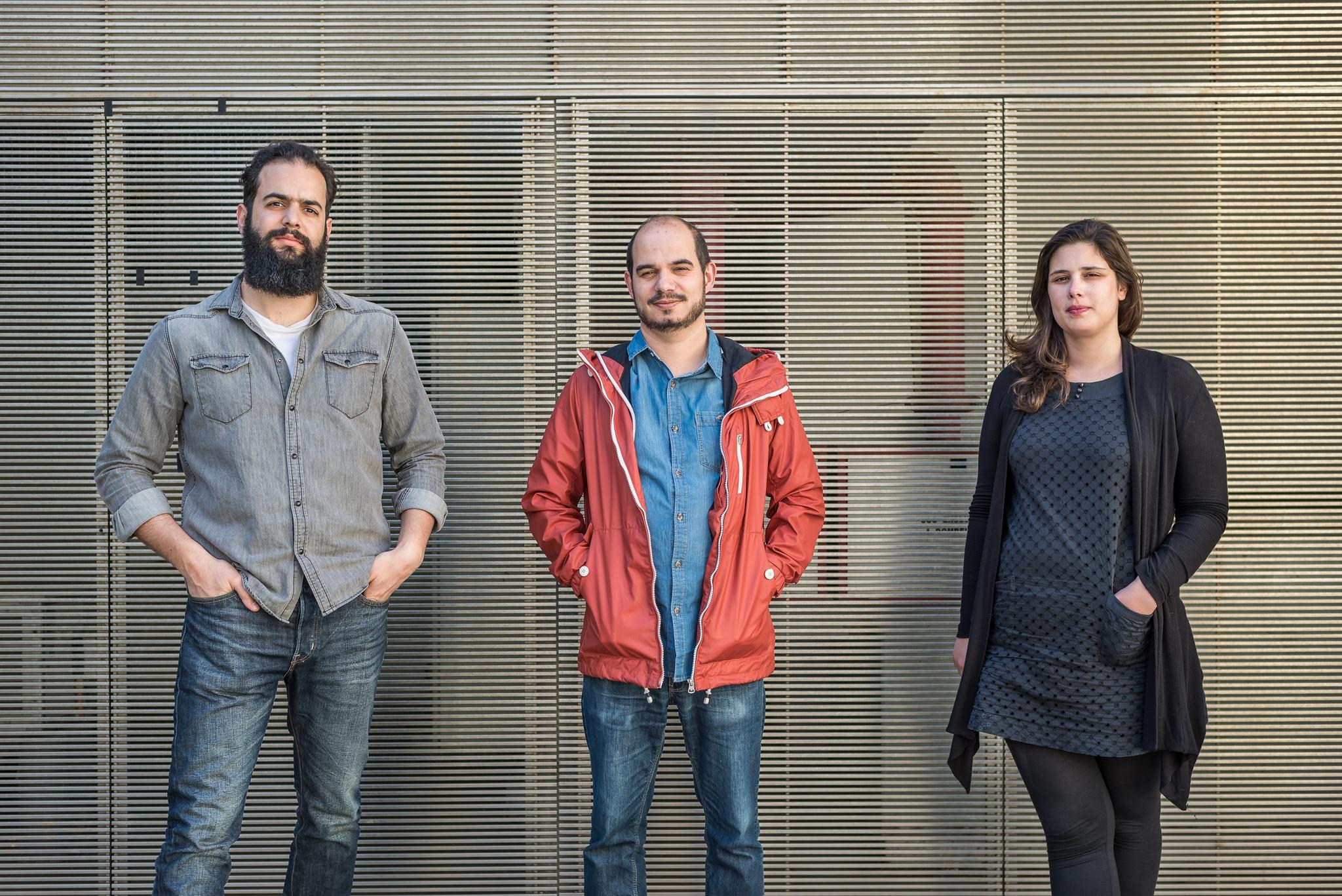 musikki startup Pedro Almeida, João Afonso e Juliana Teixeira