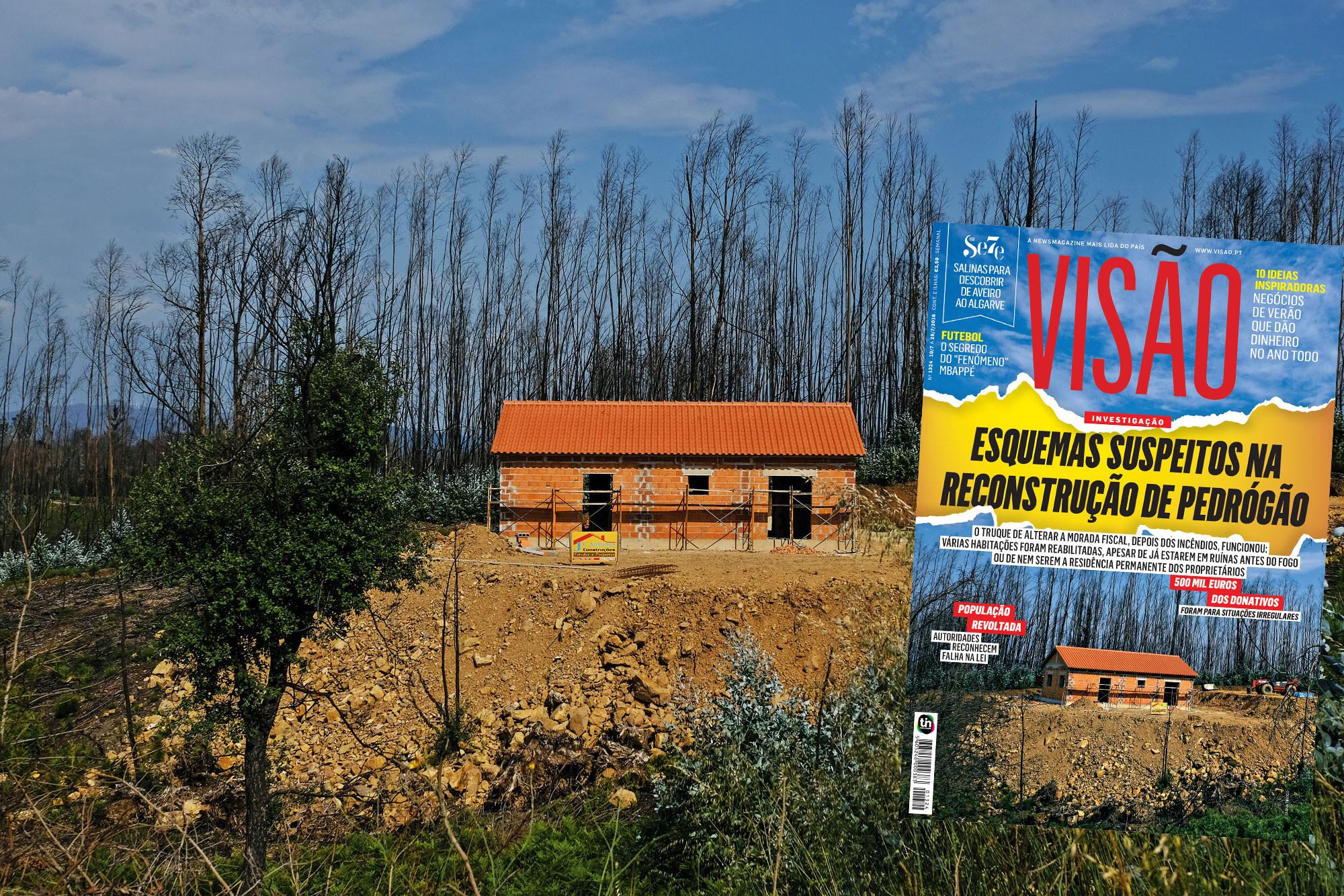 Já há quatro arguidos no caso dos apoios à resconstrução de casas em Pedrógão Grande