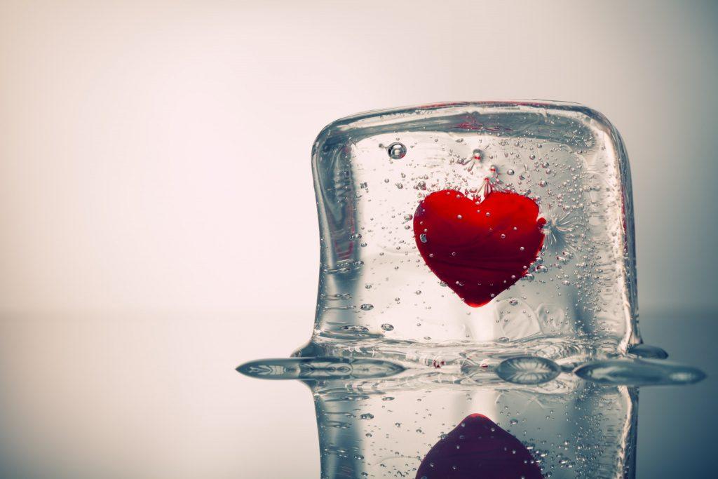 O amor também congela!