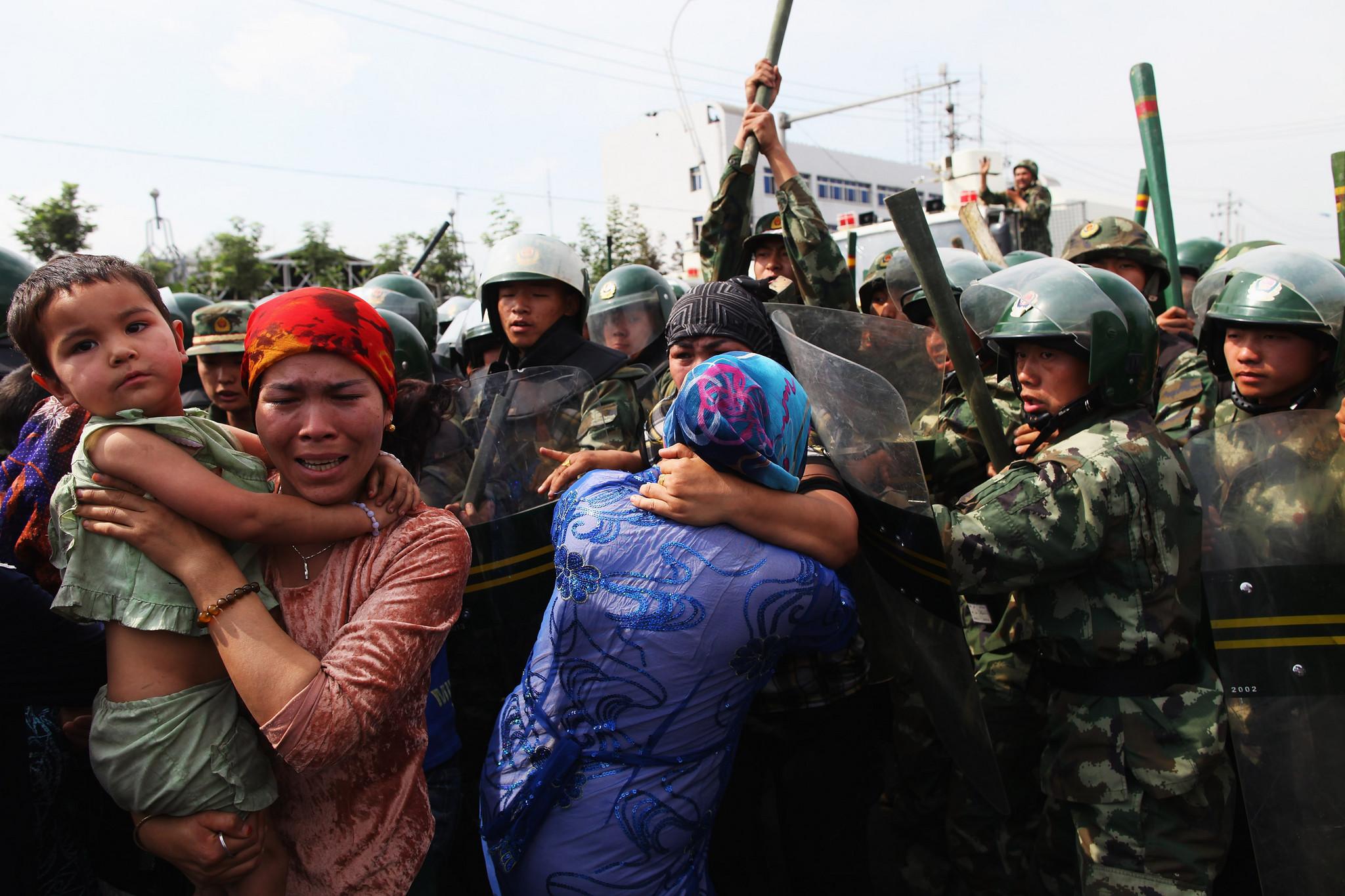 Uigures China Muçulmanos