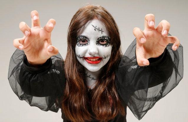 5 máscaras de Halloween muito assustadoras!