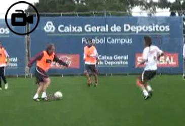 Jesus Treino Benfica