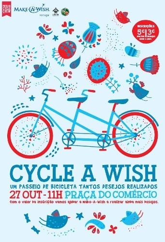 Passeio de bicicleta ajuda a realizar desejos de crianças doentes