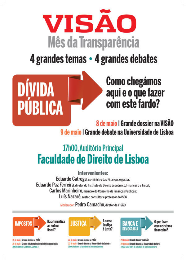 Dívida pública estreia 'Mês da Transparência'