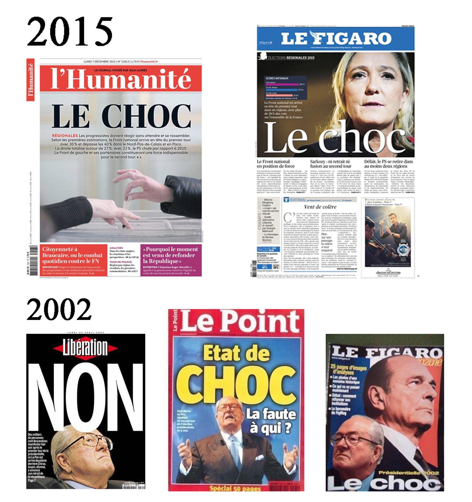 Franca Frente Nacional jornais