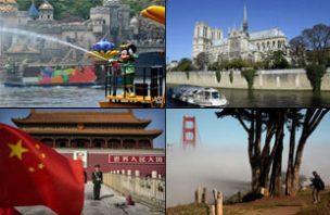 As 50 atrações turísticas mais visitadas do Mundo 50