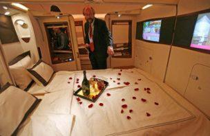 As companhias aéreas com as primeiras classes mais luxuosas 10