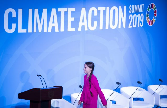 Greta Thunberg rejeita prémio ambiental como forma de protesto