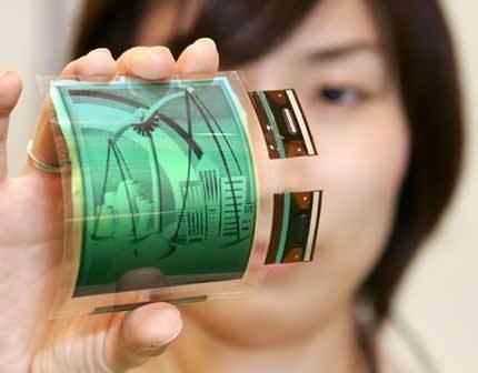 Protótipo de ecrã OLED flexível criado pela Samsung