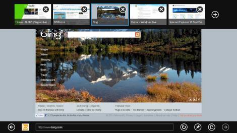 Internet Explorer 10 no Windows 8