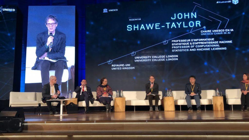 A contribuição de John Shawe Taylor, líder do recém-criado instituto da UNESCO para a Inteligência Artificial (IRCAI), a quando em Março de 2019 se começava a preparar a sua criação. O instituto que será sediado na capital eslovena já no início de 2020, é o primeiro instituto da UNESCO dedicado à Inteligência Artificial e às cada vez mais proeminentes transformações da nossa sociedade através dela.