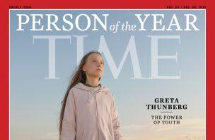 Greta Thunberg é a personalidade do ano da revista TIME