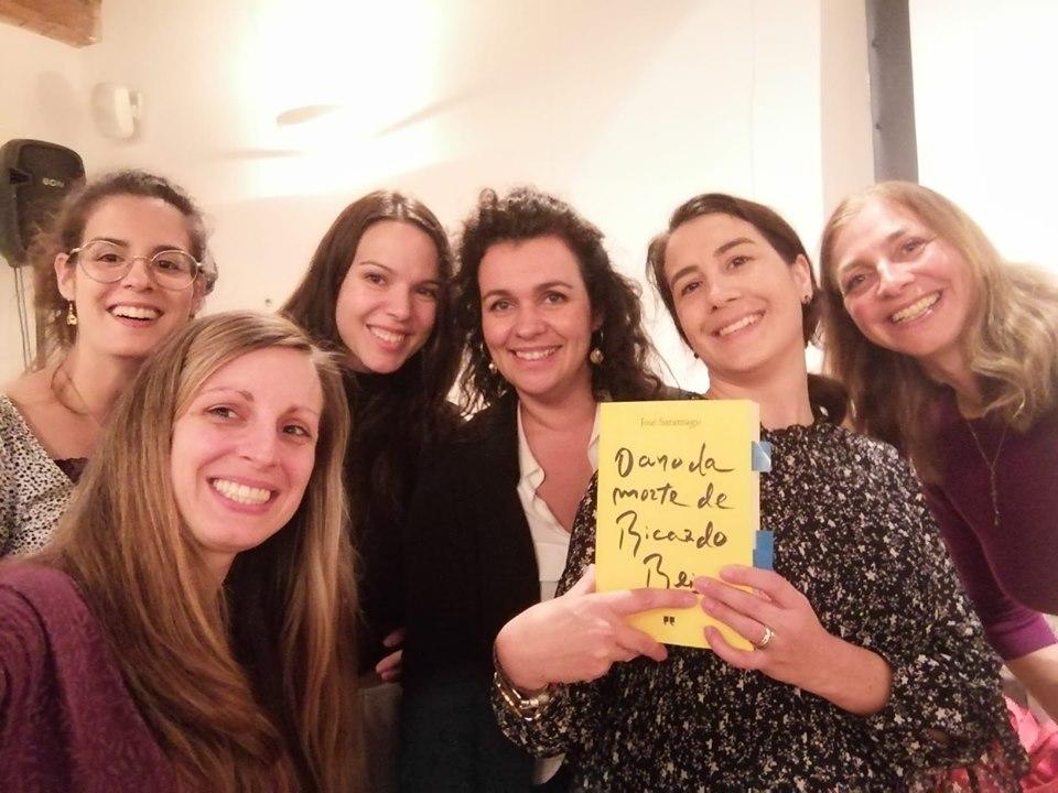 Edição de 2019 das comemorações da Lusofonia em Ljubljana, organizada pela Associação de Amizade Luso-Eslovena liderada por Gabriela Droga Mazovec, e com a presença de Barbara Juršič que leu excertos do seu novo livro acompanhada de leituras em Português pelos participantes do evento.
