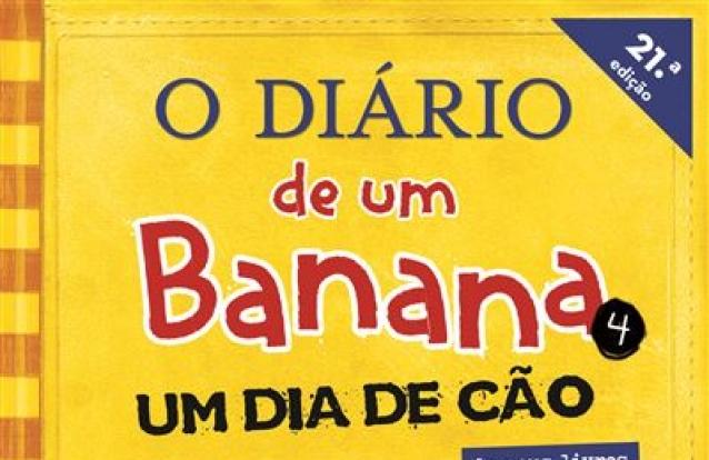 «O Diário de um Banana 4: Um Dia de Cão», de Jeff Kinney