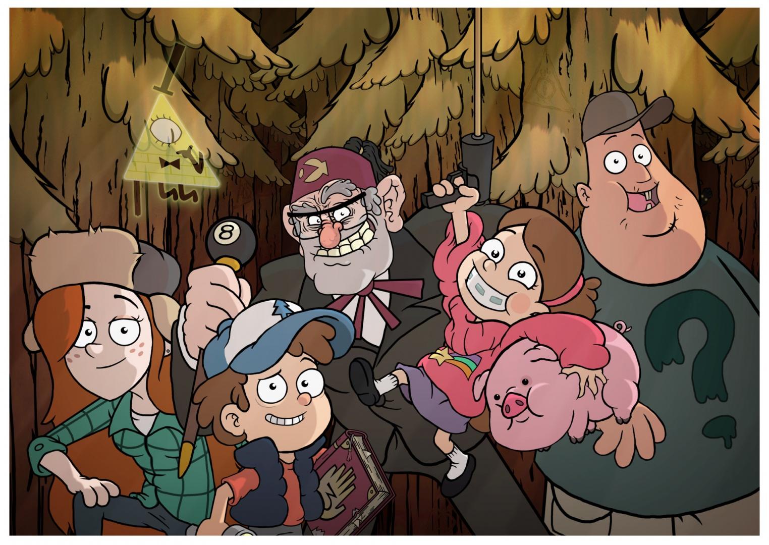 Ver Serie Gravity Falls (2012) Online Completa HD Seriesflix