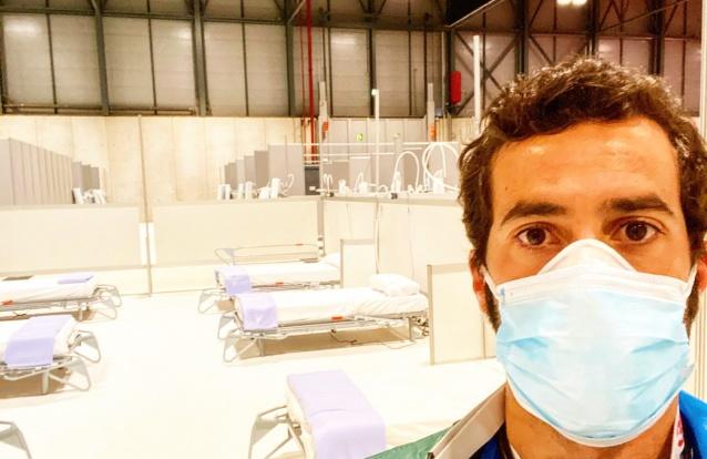 """Os dias de um médico português em Madrid: """"A situação no hospital está a melhorar. Tanto aqui como nos centros de saúde notamos uma menor afluência às urgências"""""""