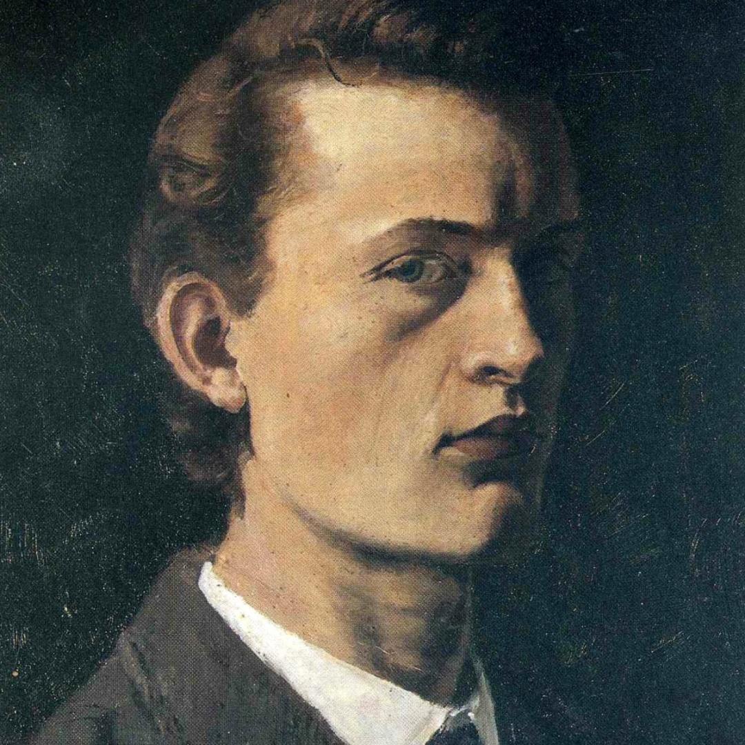 autoretrato Edvard Munch