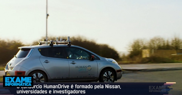 HumanDrive Project: we went to England to be driven by an electric Nissan...