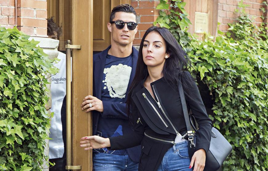 Caras   Georgina Rodríguez e Cristiano Ronaldo combinam no